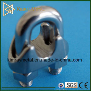 Stainless Steel Wire Rope Clip DIN741 in Balustrade Fittings pictures & photos
