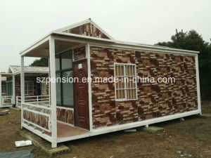 Low Pay High Quality Mobile Prefabricated/Prefab House/Villa Container House for Hot Sale pictures & photos