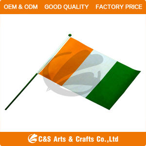 Custom Printing National Display Hand Flag/Banner pictures & photos