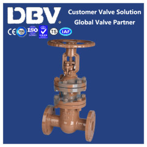 Handwheel Gear Casting Bellow Flanged Gate Valve pictures & photos