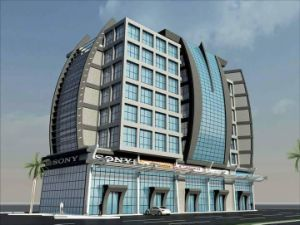 Wave and Curving Aluminum Curtain Wall Design pictures & photos