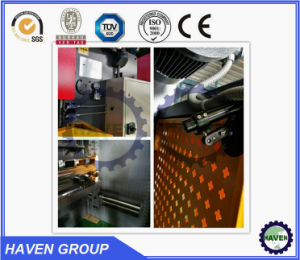 CNC Electric Hydraulic Synchronization Steel Plate Hydraulic Press Brake Machine WE67k pictures & photos