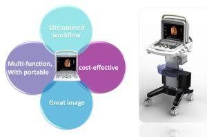 Mc-Q5 4D Portable Color Doppler Ultraosund Scanner pictures & photos