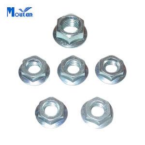 Carbon Steel Serrated DIN6923 Hex Flange Nuts