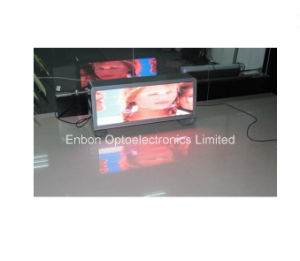 Double Side Full Color P5mm Waterproof Taxi/Car Roof Top LED Sign Display for Advertising pictures & photos