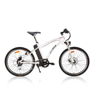 Classic Disc Brake Electric Mountain Bike pictures & photos