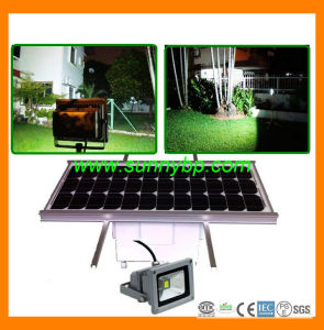 20watt Outdoor Solar Flood Garden Light with PIR Sensor pictures & photos