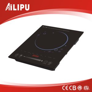 Home Appliance Sliding Sensor Touch Induction Cooker with Pure Copper Coil pictures & photos