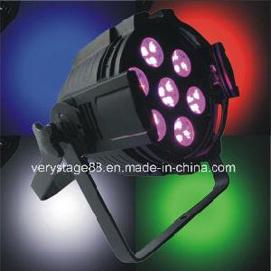 7 X12W PAR64 Indoor LED PAR Can Event Disco Stage Lighting pictures & photos