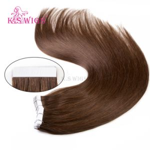 Wholesale Hair Extension Tape in Hair Human Hair Extension pictures & photos