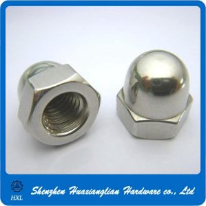Stainless Steel Hex Domed Decorative Cap Nut for Bolt (DIN1587) pictures & photos