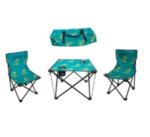 Kids Camping Folding Fishing Chairs with Foldable Table (MW11037) pictures & photos
