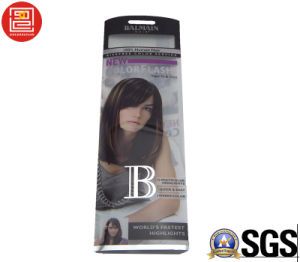 Hair Packaging Boxes, Packaging Box for Hair, Offset UV Printing Clear Plastic Hair Packaging Boxes