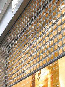 Stainless Steel Roller Grille/Security Grill Shutter pictures & photos