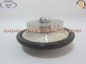 Vacuum Brazed Diamond Router Profiling Wheel Router Bit pictures & photos