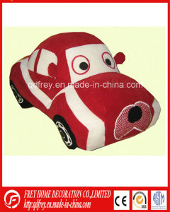 Red Plush Toy of Sport Car for Gift