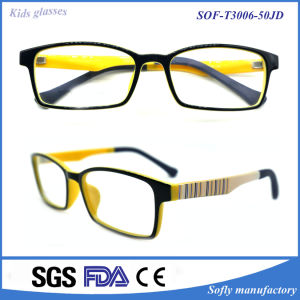 Children′s Plastic Frame Manufacturers, Wholesale Spring Children Myopia Frames pictures & photos