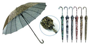 Animal Skin Print 16ribs Automatic Umbrella (YS-SA23163905R) pictures & photos