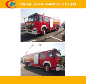 Sinotruk 6*4 371HP Fire-Fighting Trucks pictures & photos