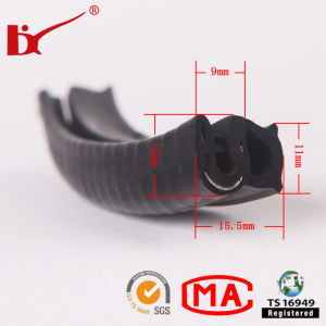 EPDM Extrude Good Performence Rubber Sealing Strip pictures & photos