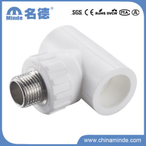 PPR Male Tee Type a Fitting for Building Materials pictures & photos