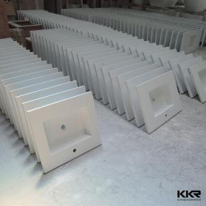 Kkr Acrylic Solid Surface Bathroom Wash Basin pictures & photos
