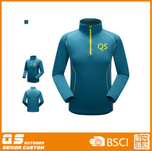 Men′s Thermal Stretch Outdoor Wear Fleece Jacket pictures & photos