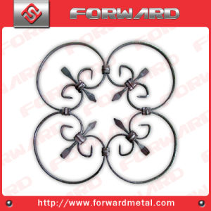 Ornamental Wrought Iron Panel pictures & photos