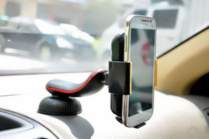 Wireless Car Charger Charging with Qi Certification Sucker Is on The Buttom pictures & photos