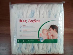 Soft and Breathable Diapers with Transparent Packaging (XL)