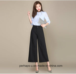 New Design Womens Palazzo Pants with Custom Logo pictures & photos