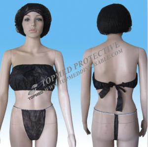 Nonwoven Thong Bikini/ Disposable Micro G-Strings/White Hot G-String /Bikini Sexy Panty pictures & photos