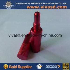 CNC Machining Red Anodizing Motorcycle Parts Piston Stop pictures & photos