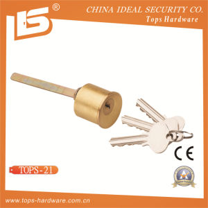 High Quality Brass Round Cylinder Lock (TOPS-21) pictures & photos