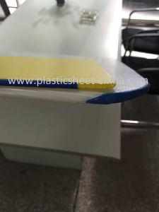 PP Hollow Board with Rounded Corners and Sealed for Backing Plate pictures & photos