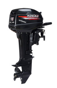 Hangkai Long Shaft 18HP 2 Stroke Outboard Boat Motors pictures & photos