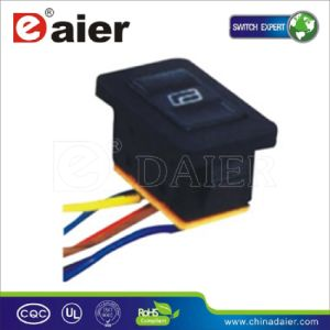Universal Car Window Lift Switch with Wire (ASW-21D) pictures & photos