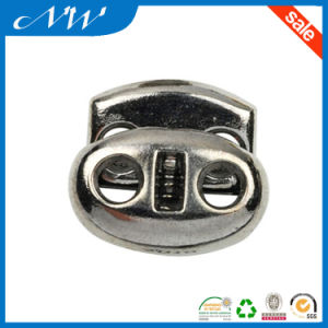 Wholesale Zinc Alloy Cord Lock for Garments pictures & photos