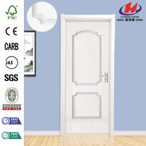 Whiter Primer Moulded Interior Wooden Door pictures & photos