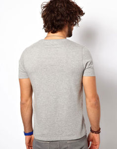 Wholesale High Quality Blank Plain Men T-Shirt pictures & photos