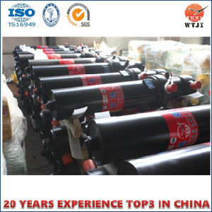 Telescopic Hydraulic Cylinder for Dump Truck with ISO/Ts16949 pictures & photos