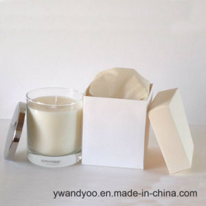 Luxury Scented Soy Wax Candle in Glass Jar with Metal Lid, Birthday Candle pictures & photos