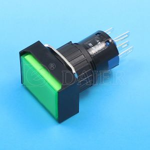 Dpdt LED Push Button Switch; Indicator Switch (A16-11SJ/A16-11ZJ/N) pictures & photos