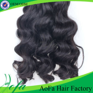 Wavy Hair Weaving/ Remy Hair Extension / Virgin Brazilian Human Hair pictures & photos