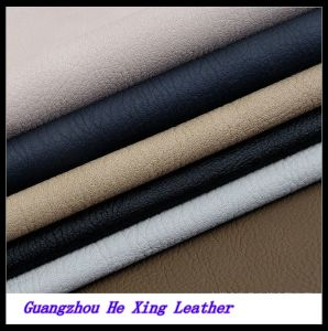 High Quality PU Leather Synthetic Leather for Shoes pictures & photos