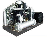 Pet Oil Free Piston Booster Compressor pictures & photos