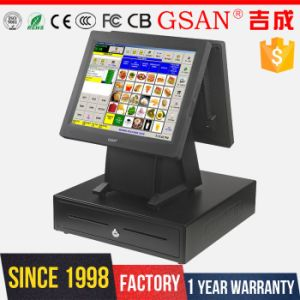 POS System Dual Screen POS Termianl Cash Register pictures & photos