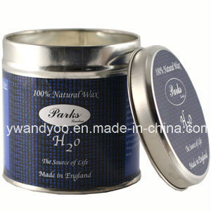 Luxury Scenteed Soy Wax Tin Candle in Colorful Packing pictures & photos