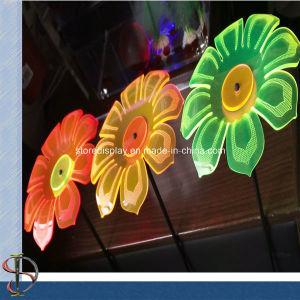 Fluorescence Acrylic Flowers for Garden