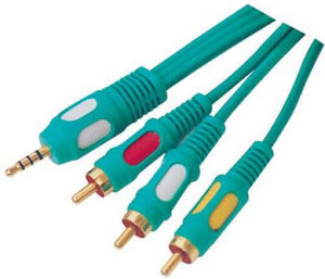 Audio Video Cable RCA Cable (1R, 2R, 3R) pictures & photos